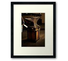 Blacksmith's Anvil Framed Print