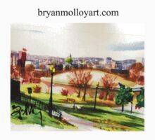 domes at reservior park, hbg, pa, usa by BRYAN MOLLOY