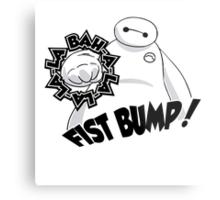 Baymax Fist Bump! Metal Print