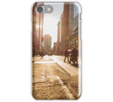 Morning Taxi iPhone Case/Skin