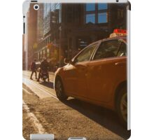 Morning Taxi iPad Case/Skin