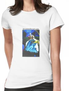 monarchy and democracy Womens Fitted T-Shirt