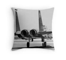 Jet Fighter Throw Pillow