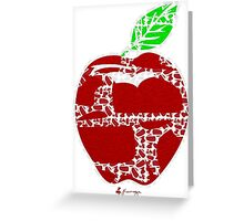 Keinage - Fruit Paradise - Apple Greeting Card