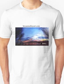sunset on the susquehanna river T-Shirt