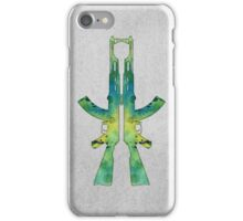 Watercolor Gun iPhone Case/Skin
