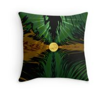In the rush of life Throw Pillow