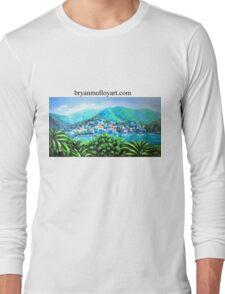 italian riviera Long Sleeve T-Shirt