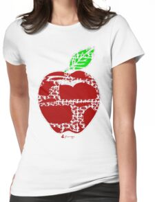 Keinage - Fruit Paradise - Apple Womens Fitted T-Shirt