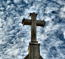God's Sky - St Marys Church Inglewood Victoria by Rachael Taylor