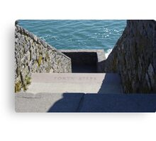 Forty Steps Newport Canvas Print