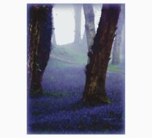 Bluebells in the Mist Kids Clothes