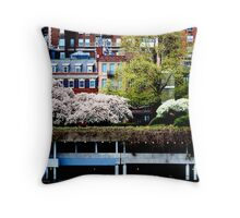 East Side Drips Over FDR Throw Pillow