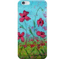 Playful Poppies of Provence iPhone Case/Skin