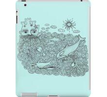 Ocean Man iPad Case/Skin