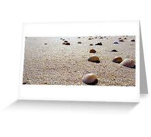 She sells sea shells by the sea shore Greeting Card