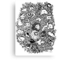Aloxtol to Zebra Canvas Print