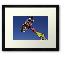 Evolution  fair ride photograph Framed Print