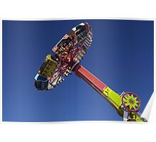 Evolution  fair ride photograph Poster