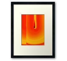 burn for you Framed Print