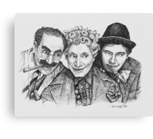 Marx Brothers Canvas Print