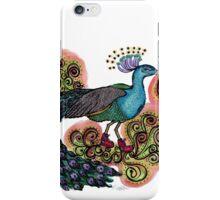Sneaky Sneaker Peacock iPhone Case/Skin