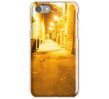 Belmont alley way iPhone Case/Skin
