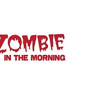 Zombie in the morning by jazzydevil