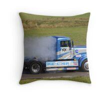 Smokey Blue Throw Pillow