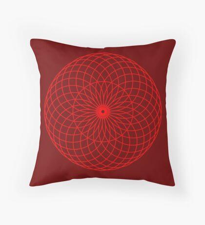 Sacred Retina Throw Pillow