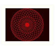 Sacred Retina Art Print