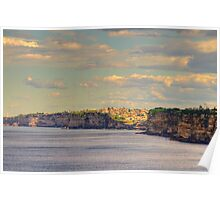 Heading South - South Head - Moods Of A City - The HDR Series , Sydney Australia Poster