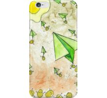 The Life Circulation of the Egg. iPhone Case/Skin