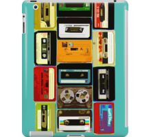 Old School Cassette Tapes iPad Case/Skin