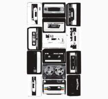 Retro Cassette Tapes Kids Clothes