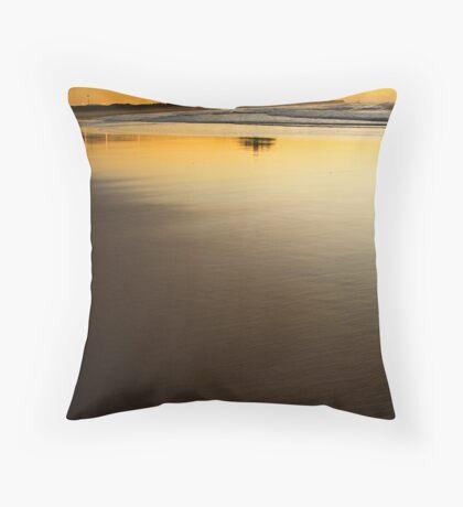 Nobbys Sunrise Portrait Throw Pillow