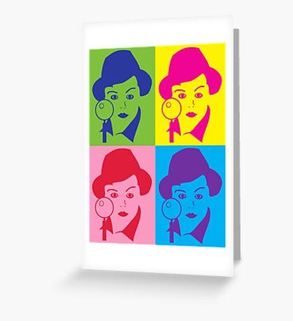 Murder, She Wrote Sticker Greeting Card