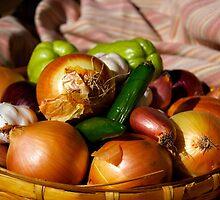 Garlic & Onions by Karen Eaton