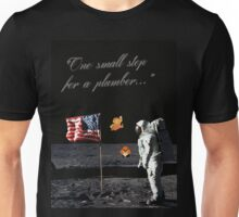 Goombas on the Moon (with text) Unisex T-Shirt