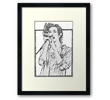 Matt Healy The 1975 Framed Print