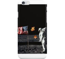 Goombas on the Moon  iPhone Case/Skin