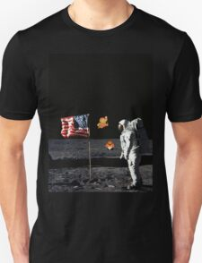 Goombas on the Moon  T-Shirt