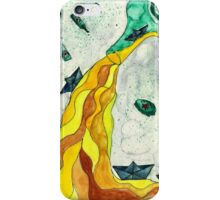 Floating like Alcohol iPhone Case/Skin