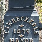 C J Waeckerle - 1879 Mayor by Robyn Williams