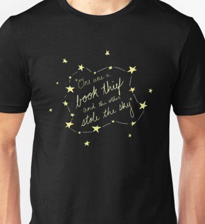 Book Thief/Sky Stealer 2.0 Unisex T-Shirt