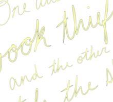 Book Thief/Sky Stealer 2.0 Sticker