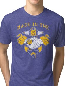 Made in the USA tattoo design Hope Tri-blend T-Shirt