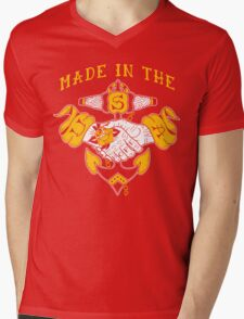 Made in the USA tattoo design Hope Mens V-Neck T-Shirt
