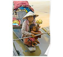 Lady Finger - Lake Tonle Sap, Cambodia Poster