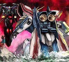 Gundam Fight! by Brokenzen